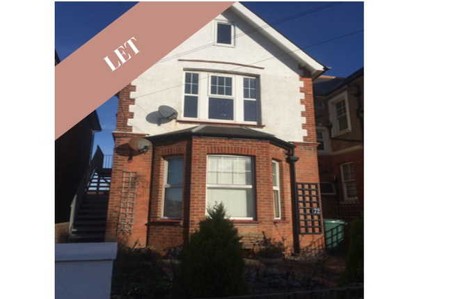 Thumbnail Maisonette to rent in Wickham Avenue, Bexhill-On-Sea