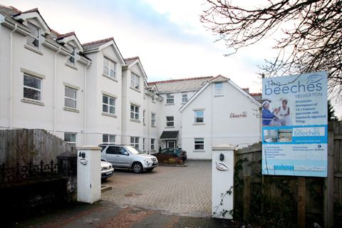 Thumbnail Flat to rent in The Beeches, Yelverton