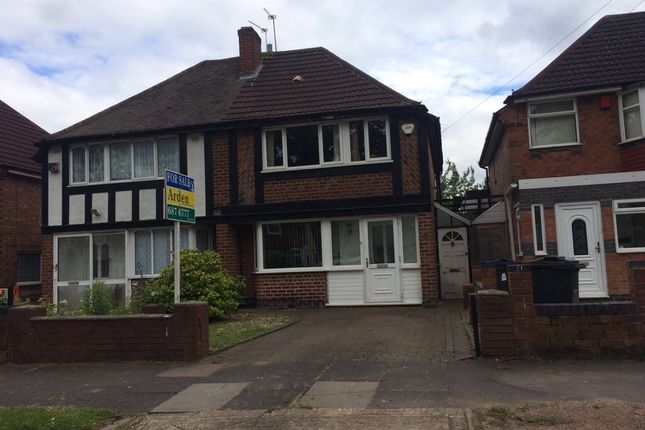 Thumbnail Semi-detached house for sale in Falmouth Road, Hodge Hill