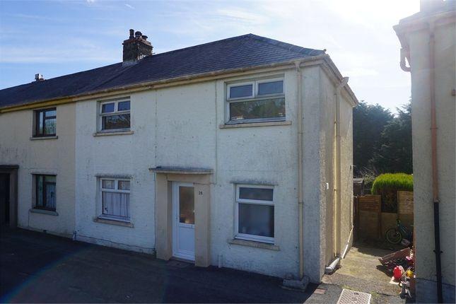 Thumbnail End terrace house to rent in Heol Y Felin, Goodwick, Pembrokeshire