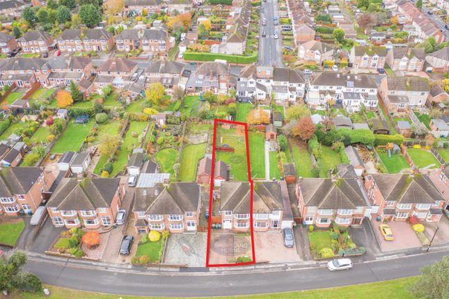 Red Outline of St. Martins Road, Finham, Coventry CV3