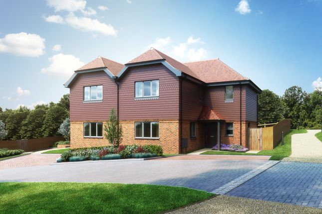 """Thumbnail Semi-detached house for sale in """"The Highland"""" at Redlands Lane, Crondall, Farnham"""