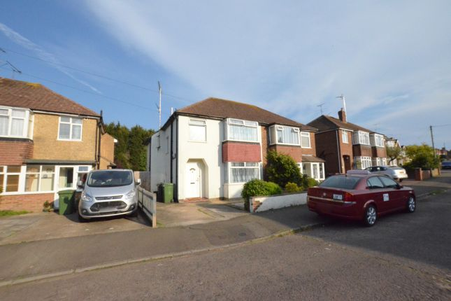 Thumbnail Semi-detached house for sale in Downlands Avenue, Bexhill-On-Sea, East Sussex