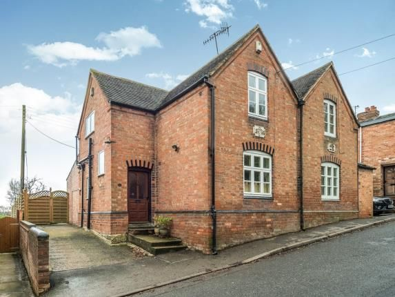 Thumbnail Semi-detached house for sale in Church Bank, Temple Grafton, Alcester, Warwickshire