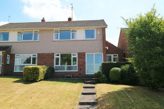 Thumbnail Semi-detached house for sale in Cheddon Road, Taunton