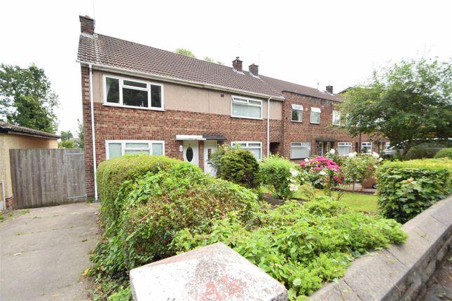 Thumbnail End terrace house for sale in Highfield South, Rock Ferry, Birkenhead
