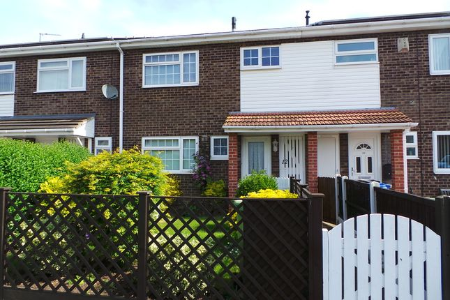 Thumbnail Terraced house for sale in Grasby Close, Gainsborough