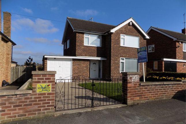Thumbnail Detached house to rent in Dunstan Crescent, Worksop, Nottinghamshire
