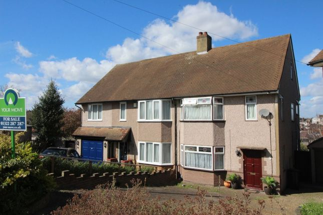 Thumbnail Semi-detached house for sale in Tudor Close, Dartford