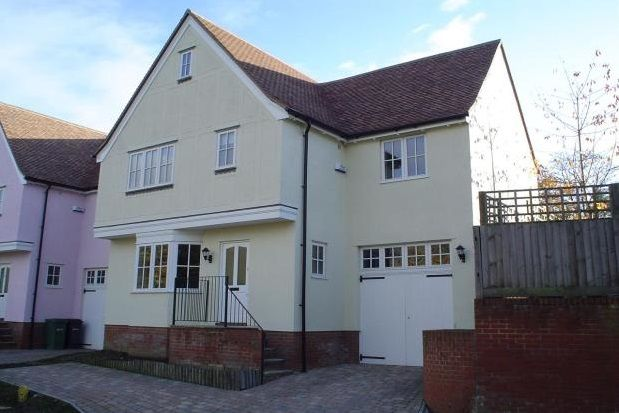 Thumbnail Detached house to rent in St Peters View, Sible Hedingham
