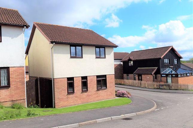 Thumbnail Detached house for sale in Angelton Green, Pen-Y-Fai, Bridgend