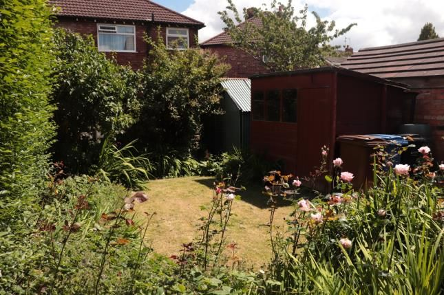 Garden of Windemere Road, Heaviley, Stockport, Cheshire SK1