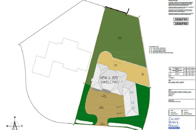 Thumbnail Land for sale in Highview, Sporle, King's Lynn