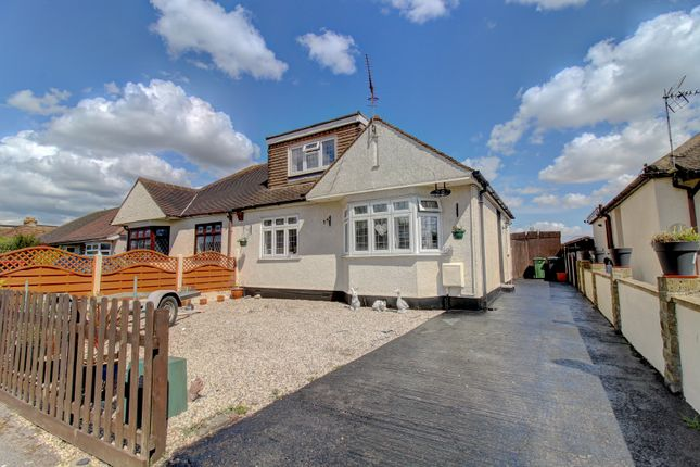 Thumbnail Semi-detached house for sale in Ilfracombe Avenue, Bowers Gifford, Basildon