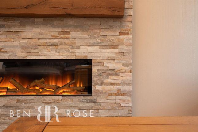Lounge Fireplace of Fir Tree Close, Chorley PR7