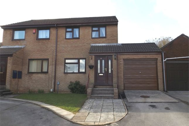 Thumbnail Semi-detached house for sale in Woodland Row, Cwmavon, Port Talbot, West Glamorgan