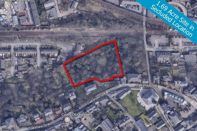 Thumbnail Land for sale in 26, Oakshaw Street East, Site, Paisley, Renfrewshire PA12Dd