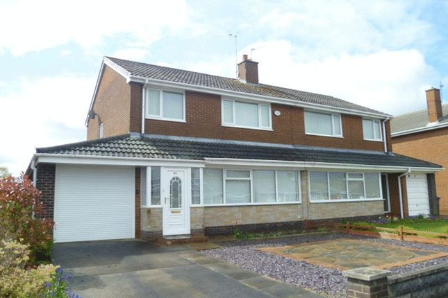 Thumbnail Semi-detached house to rent in Northumberland Avenue, Bishop Auckland