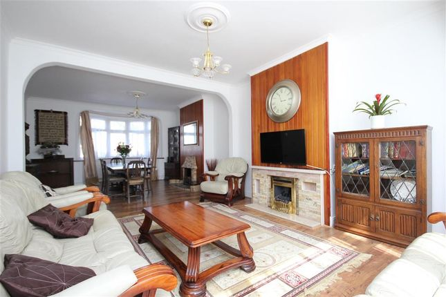 Thumbnail Semi-detached house for sale in Campbell Avenue, Ilford, Essex
