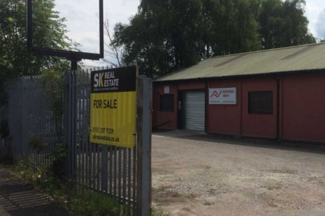 Thumbnail Industrial for sale in Woodward Road, Knowsley Industrial Park, Liverpool