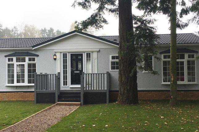 Thumbnail Mobile/park home for sale in Stourport Road, Bromyard, Herefordshire