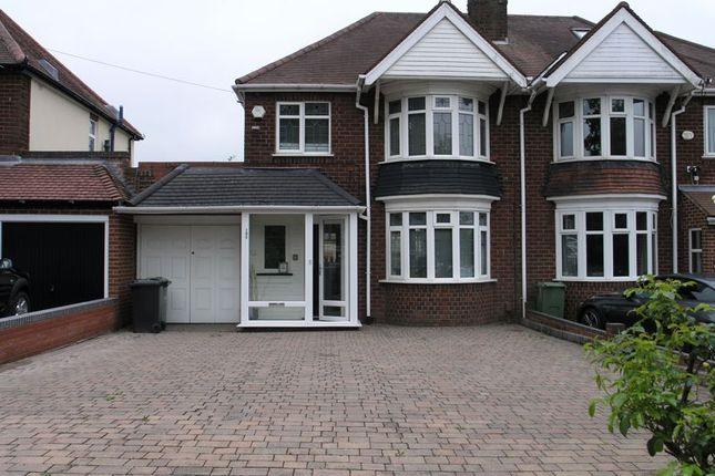 Thumbnail Semi-detached house for sale in Manor Lane, Halesowen