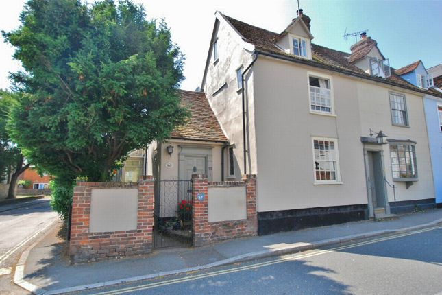 Thumbnail End terrace house for sale in Stoneham Street, Coggeshall, Essex
