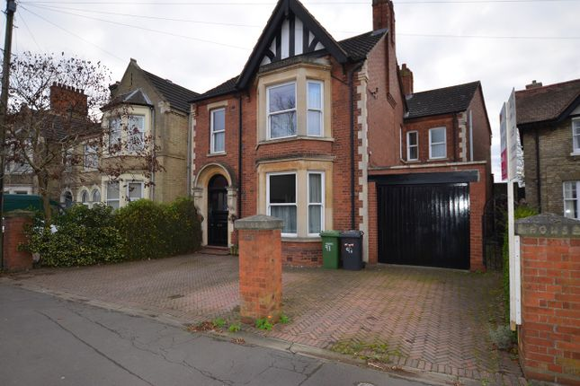 Thumbnail Detached house to rent in Thorpe Road, Peterborough