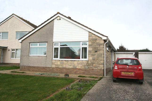 Thumbnail Detached bungalow for sale in Voss Park Drive, Boverton, Llantwit Major