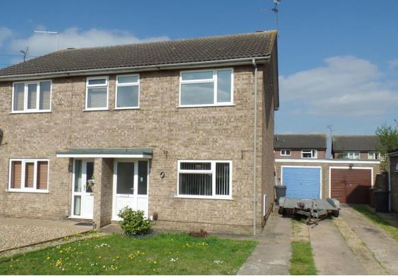 Semi-detached house for sale in Borrowdale Close, Peterborough