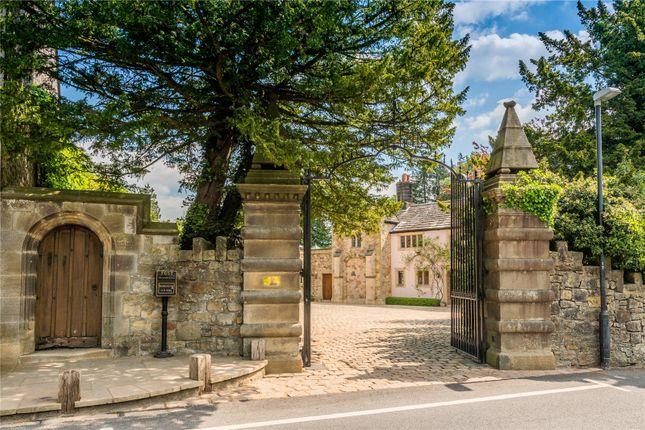 Entrance Gate of Waddington, Clitheroe, Lancashire BB7