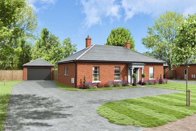 Thumbnail Detached bungalow for sale in St George's Park, George Lane, Loddon, Norwich
