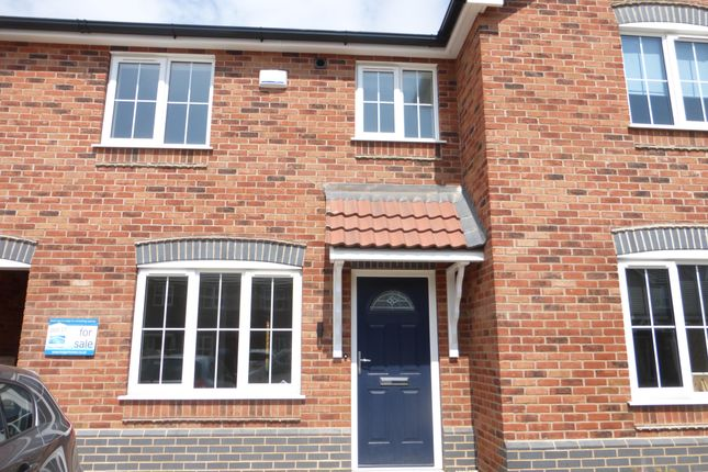 Thumbnail Terraced house to rent in Bilberry Close, Scunthorpe