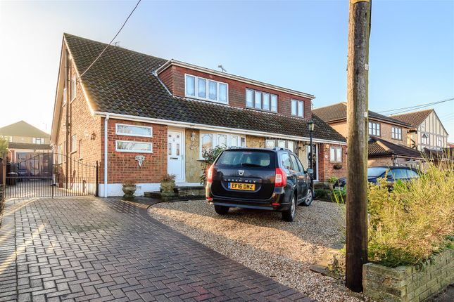 Thumbnail Semi-detached house for sale in Bouldrewood Road, Benfleet