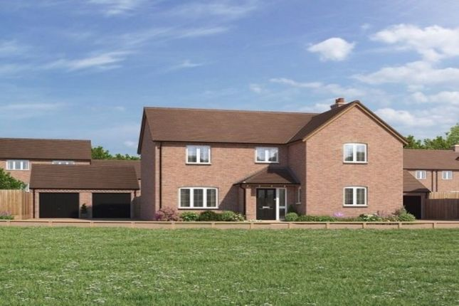Thumbnail Detached house for sale in Bransford Road, Rushwick, Worcester