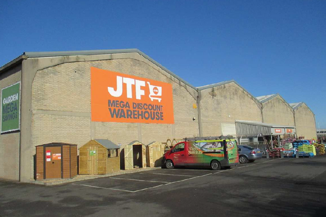 Thumbnail Commercial property for sale in J T F Mega Warehouse, Padholme Road East, Cambridgeshire