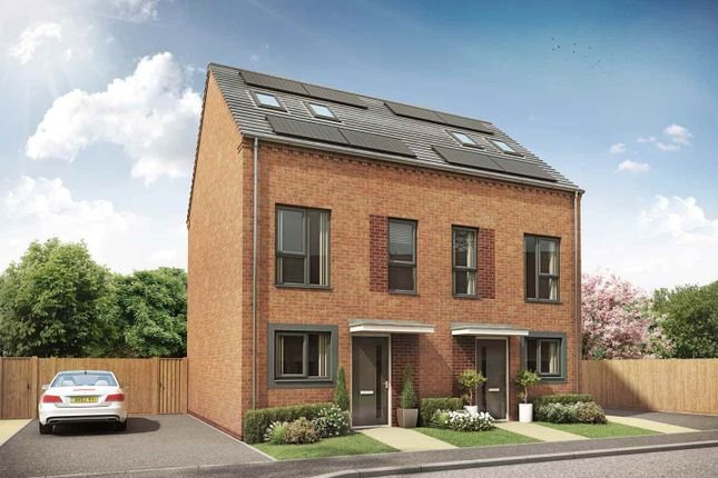 "Thumbnail Terraced house for sale in ""The Irwin"" at Kimberley Street, Wolverhampton"