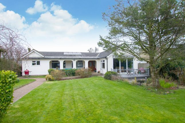 Thumbnail Detached bungalow for sale in Helena Road, Capel-Le-Ferne, Folkestone