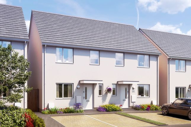 """2 bed semi-detached house for sale in """"The Hart"""" at Rosedown Avenue, Plymouth PL2"""