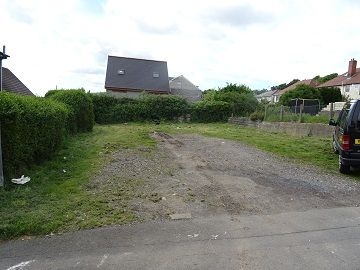 Land for sale in St Leger Crescent, St Thomas, Swansea