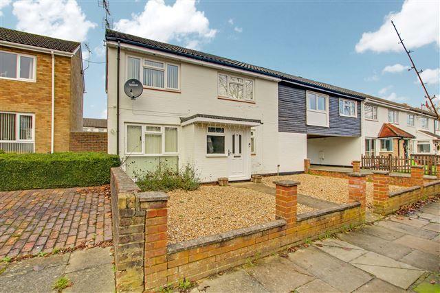 3 bed end terrace house for sale in Lamberhurst Walk, Crawley RH10