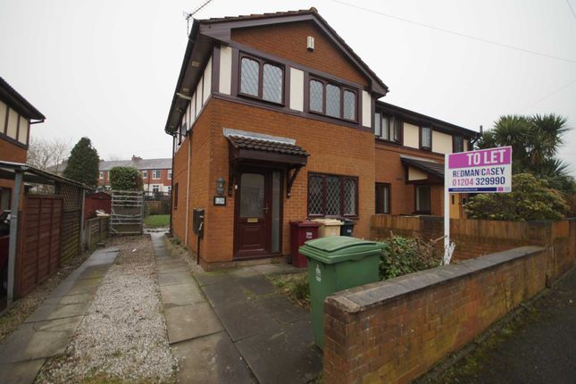 Thumbnail Semi-detached house to rent in Cooper Street, Horwich, Bolton