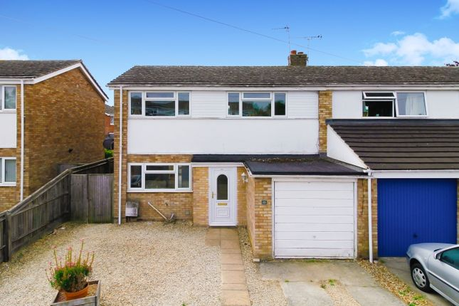 Thumbnail Semi-detached house to rent in Wilmot Close, Witney