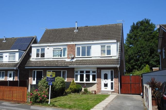 Semi-detached house for sale in Neston Drive, Bulwell, Nottingham, Nottinghamshire