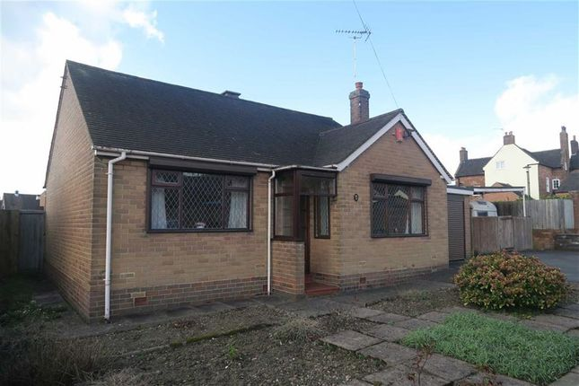 Thumbnail Detached bungalow for sale in Meadow Drive, Cheadle, Stoke-On-Trent
