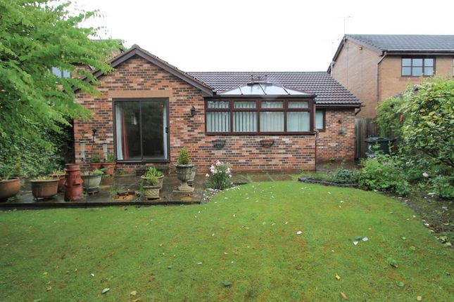 Thumbnail Detached bungalow to rent in Silkstone Close, Tankersley, Barnsley