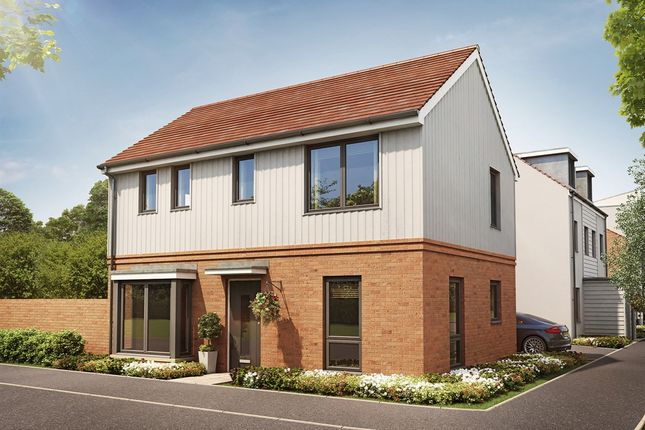 "Thumbnail Semi-detached house for sale in ""The Clayton Corner"" at Marsh Lane, Harlow"