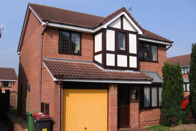 Thumbnail Detached house to rent in Swansmeade Way, Stirchley Village Telford