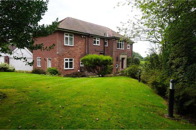 Thumbnail Detached house for sale in Dumbah Lane, Bollington