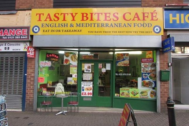 Thumbnail Restaurant/cafe to let in 55 High Street, Halesowen